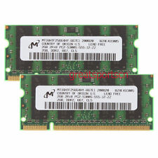 Micron 4GB 2X 2GB DDR2 PC2-5300S 2RX8 667MHz 200PIN Memory RAM SO-DIMM Laptop
