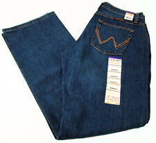 Wrangler Q-BABY Tuff Buck Mid Rise Boot Cut Womens Jeans WRQ20TB Size 15/16 x 36