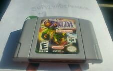 Legend of Zelda Majora's Mask Nintendo 64 N64 NFR Not For Resale Grey Gray Demo