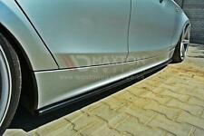 SIDE SKIRTS SPLITTERS (GLOSS BLACK) FOR BMW MK1 E87 (2004-2008)