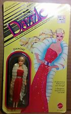 "Mattel Dazzle Dolls Diamond MIP dolls 4½"" Kenner Glamour Gals Mini Disco Barbie"