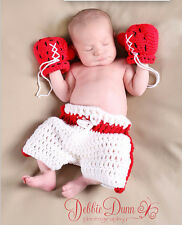 Newborn Baby  Infant Knitted Crochet Costume Photo Photography Prop A2