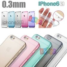 Ultra-Thin Transparent Soft TPU Gel Clear Case Cover For iPhone4S 5S 6 6S Plus