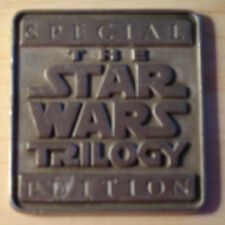 STAR WARS SOLID PEWTER MEDALLION LIMITED EDITION