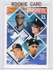 DEREK JETER ROOKIE CARD Topps Prospects SS BASEBALL RC New York Yankees!