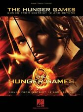 The Hunger Games Songs From District 12 & Beyond Piano Vocals Guitar Music Book