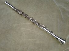 "Vintage, very RARE, Wm. S Haynes sterling silver A , ""A"" Clarinet thermoclarinet"