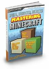 Build, Discover, Survive Mastering Minecraft Strategy Guide Bradygames -Book40B