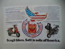 advertising Pubblicità 1983 GILERA GSA 50 /125 TG3