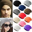New Unisex Women Men Winter Knit Ski Crochet Slouch Hat Cap Beanie Hip-Hop Hats