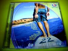 Ö3 GREATEST HITS 22 + SOMMERPARTY CD CHRISTINA AGUILERA P!NK KYLIE MINOQUE NENA