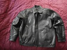 Claiborne Lambskin Leather jacket- Men's  XL