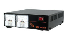 Samlex SEC-1235M Switching Power Supply with Amp & Volt Meter Display