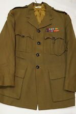 WW2 & 1957 Canadian RCACC Chaplain Service Dress & Summer Jacket Named McRitchie