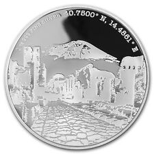 2016 Niue Proof 1 oz Silver Forgotten Cities Pompeii - SKU #95186