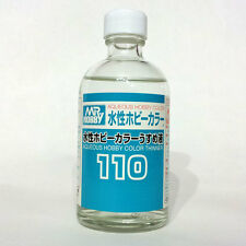 Mr Aqueous Hobby Color Acrylic Thinner 110ml T110 Gunze Sangyo GSI Creos Bottle