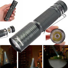 CREE T6 3000 Lumens 3 Modes Tactical Bright Flashlight Torch Powerful Lamp Light