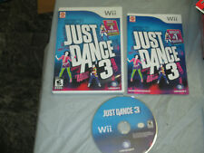 Just Dance 3 (Nintendo Wii, 2011) complete