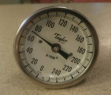 "TAYLOR 3"" BI-THERM DIAL THERMOMETER"