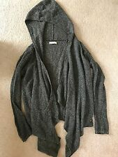 ABERCROMBIE and FITCH Open Hooded Knit Sweater Size: Small