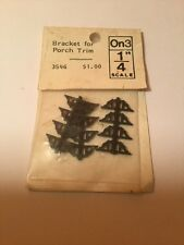 On3 Bracket For Porch Trim Model 1/4 Scale  #4546