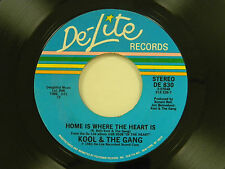 Kool & The Gang 45 HOME IS WHERE THE HEART IS / TONIGHT ~ De-Lite VG+ funk