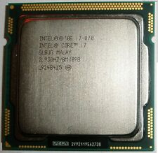 Intel Core i7 870 2.93 GHz Quad-Core Processor 8 MB Cache Socket LGA1156 CPU