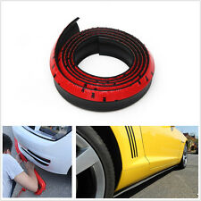 NEW Car Front Bumper Quick Lip Splitter Body Spoiler Skirt Protector Body Kits