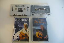 LOT DE 2K7 AUDIO TAPE CASSETTE HUGUES AUFRAY BEST OF/ CHACUN SA MER!