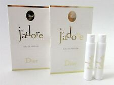 Lot of 2 Dior J'Adore Eau de Parfum Spray Samples - FRANCE ~ FREE SAMPLES! - WOW