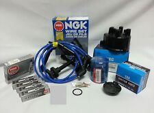OEA Cap-Rotor-NGK Wires-Spark Plug Tune Up Kit 92-96 Honda Prelude