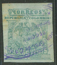 COLOMBIA Yvert # 129 A Used Good Cancel VF