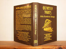 Olympian Nights by John Kendrick Bangs (HB in DW 1986) Greenhill Fantasy