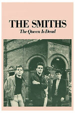 The Smiths: * The Queen is Dead * Promotional Group Photo Poster 1986