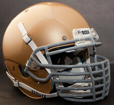 "*CUSTOM* NOTRE DAME FIGHTING IRISH Schutt XP REPLICA Football Helmet ""BIG GRILL"""