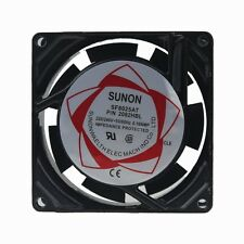 Top SUNON AC 220V 240V 8cm 80mm x 25mm Metal Industrial Lüfter cooling fan 2wire