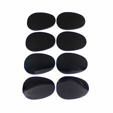 0.3mm Black Alto/Tenor Saxophone Sax Clarinet Mouthpiece Patches Pads 8 in 1 set
