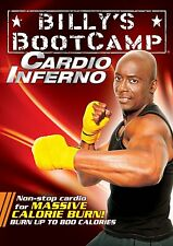 NEW BILLY BLANKS Billy's Bootcamp Cardio Inferno DVD - Tae Bo Taebo Workout
