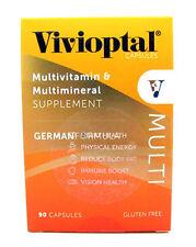 Seal Vivioptal Multivitamin & Multimineral Supplement German Formula 90 Capsules