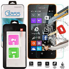 Genuine Tempered Glass Shockproof Screen Protector For Nokia Lumia 630 / 635