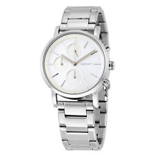 DKNY Soho Silver Dial Stainless Steel Ladies Watch NY2273