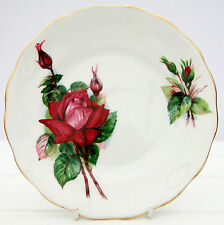 Vintage Royal Standard Wheatcroft Famous Roses Bone China Tea Plate Grand Gala