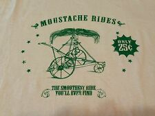 Mustache Rides Only 25 Cents T Shirt Humor Funny Sexual Erotic Smooth Ride 2XL