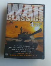 War Classics 4 Feature Films War Classics 12 Films By Land, Air & Sea DVD Pack
