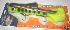 "15"" Super Magnum Double Tail Bull Dawg Musky Innovations Perch Plastic Body"