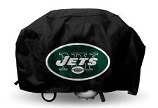 NY New York Jets Economy Team Logo BBQ Gas Propane Grill Cover - NEW