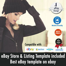 Professional eBay Store Design | Listing Auction Template | Dynamic Gallery