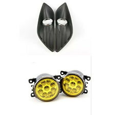 For FORD FOCUS MK2 2009-2011 LED yellow FOG LIGHTS LIGHT LAMPS cover GRILLES
