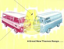 FORD A GREAT NEW THAMES RANGE... BROCHURE.