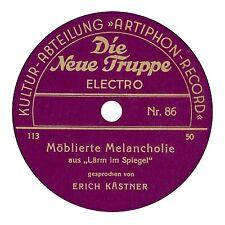 Discographie della Deutsche 78er GOMMA LACCA-registrazioni vocali-vol.3, Rainer Lotz